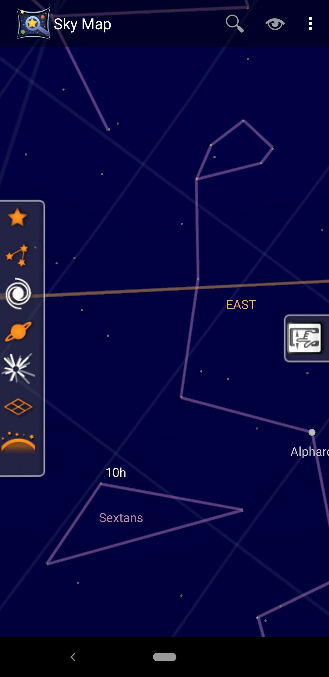 Sky Map 1.9.2 - Download für Android APK Kostenlos Download Google Sky Map For Android on