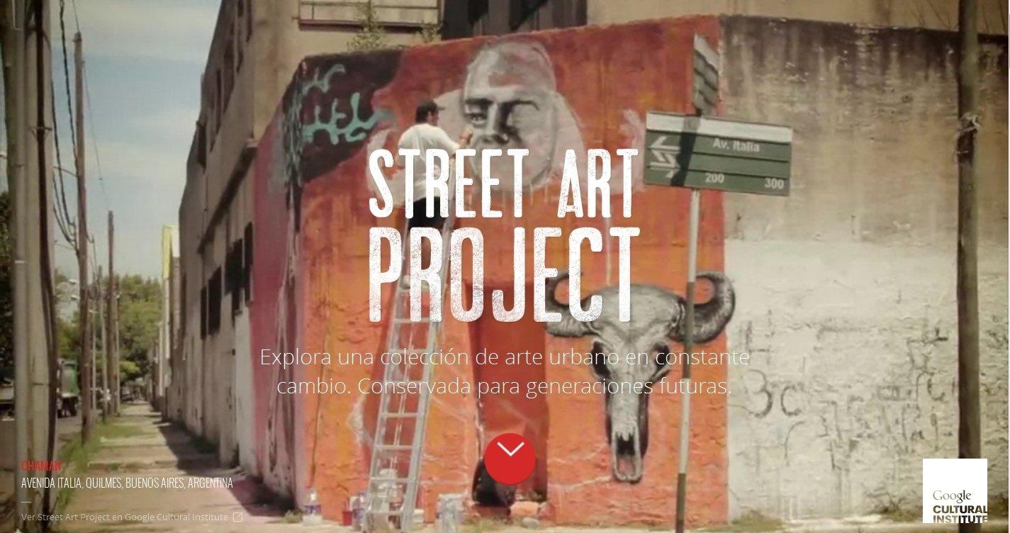Google Street Art Project Webapps image 5