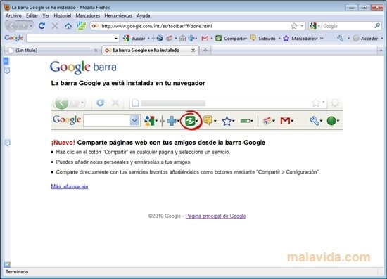 Google Toolbar Firefox image 5