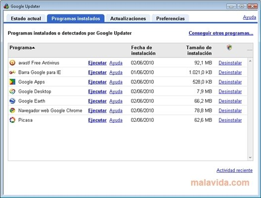 Google Updater 2 4 2166 3772 - Download for PC Free