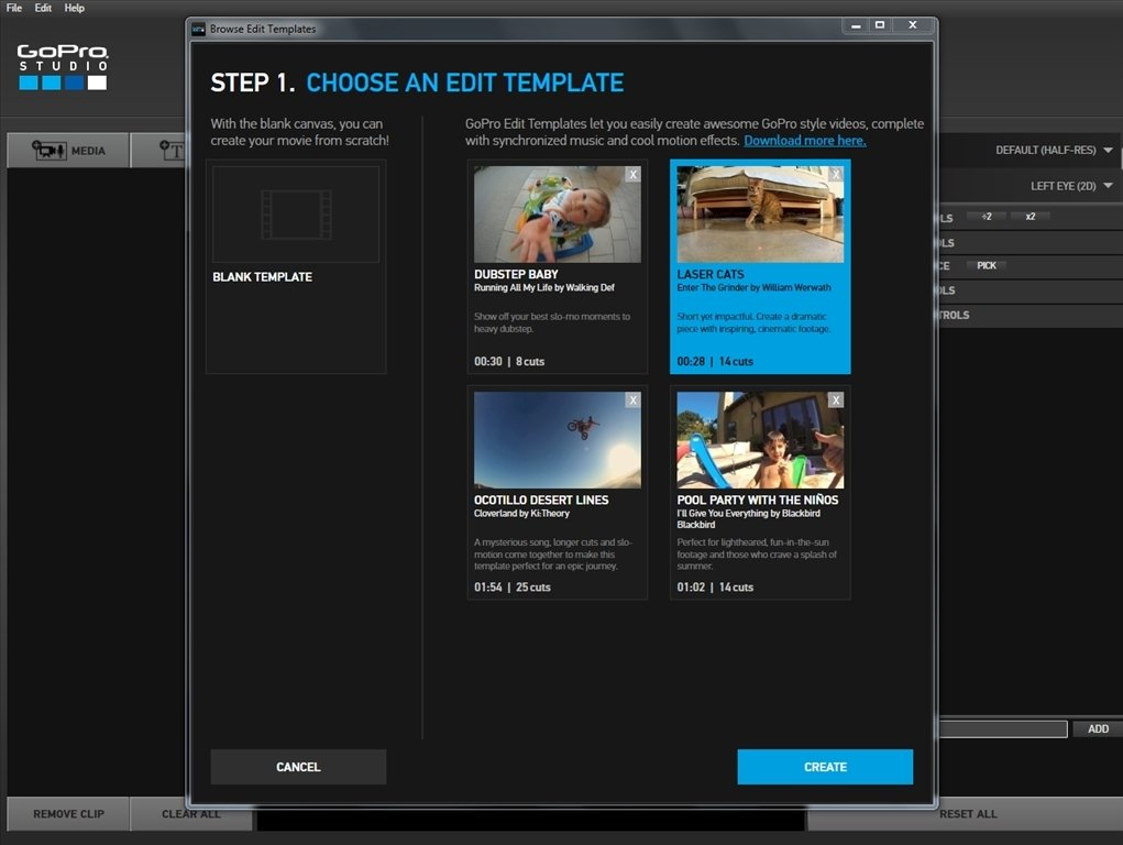 Download gopro studio 2 5 free for How to use gopro studio templates