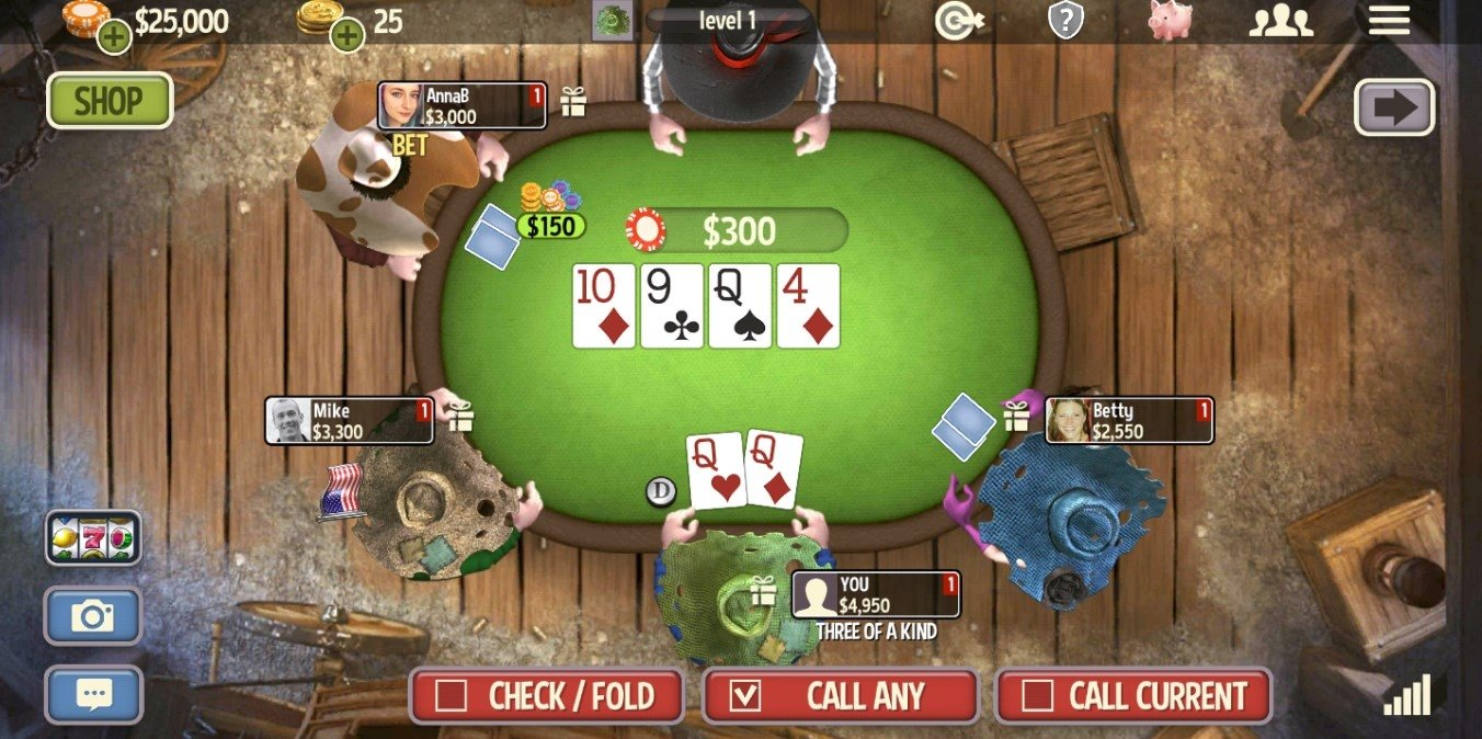 Governor of poker 3 5. 2. 3 download for android apk free.