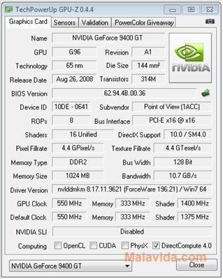 GPU-Z image 3