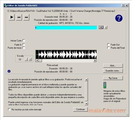 PolderbitS Sound Recorder and Editor