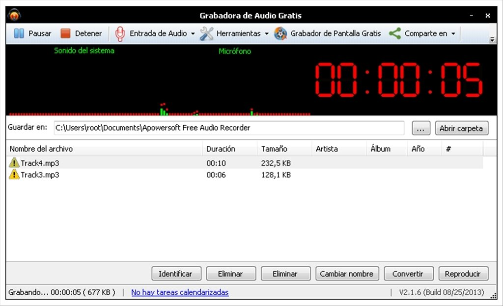 descargar grabadora de audio gratis
