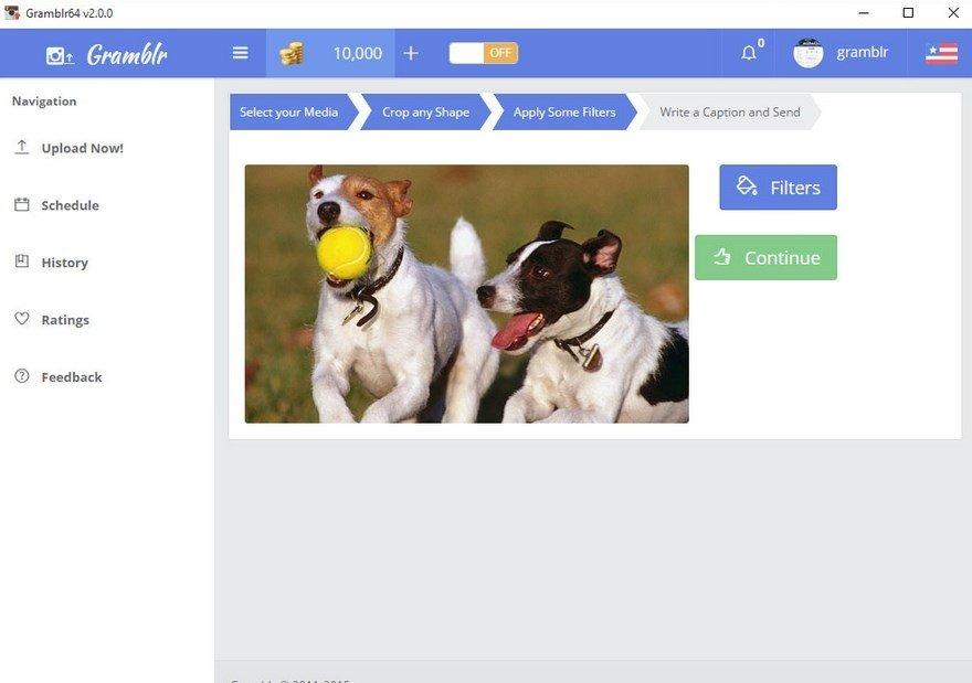 приложение Gramblr скачать - фото 9