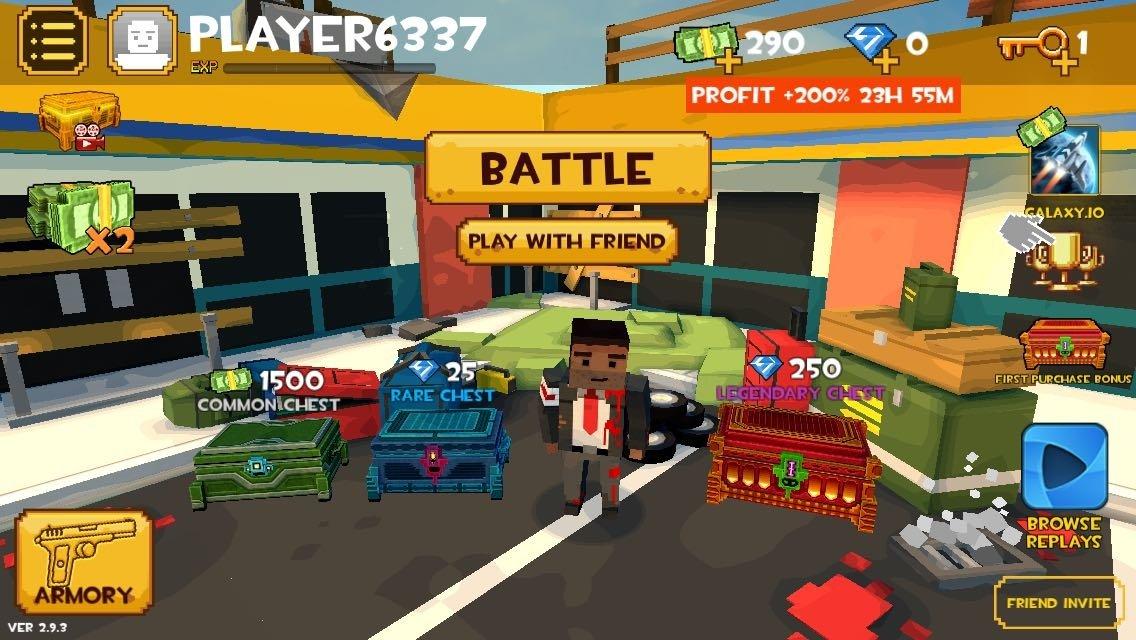 Grand Battle Royale: Pixel War - Baixar para iPhone Grátis