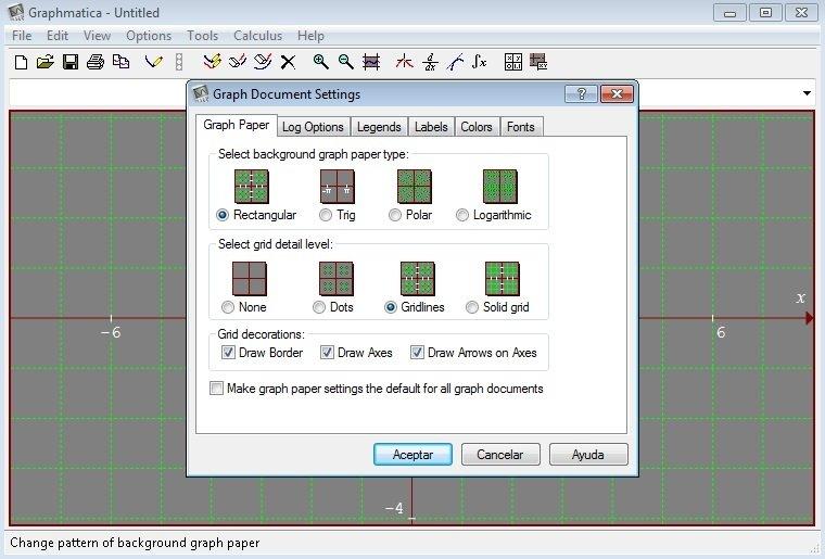 como usar o software graphmatica
