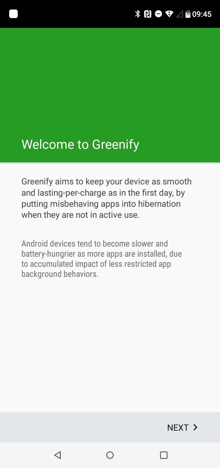 Greenify Android image 4
