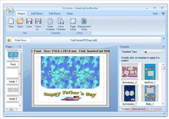Download greeting card builder 312 for pc free greeting card builder image 1 thumbnail m4hsunfo