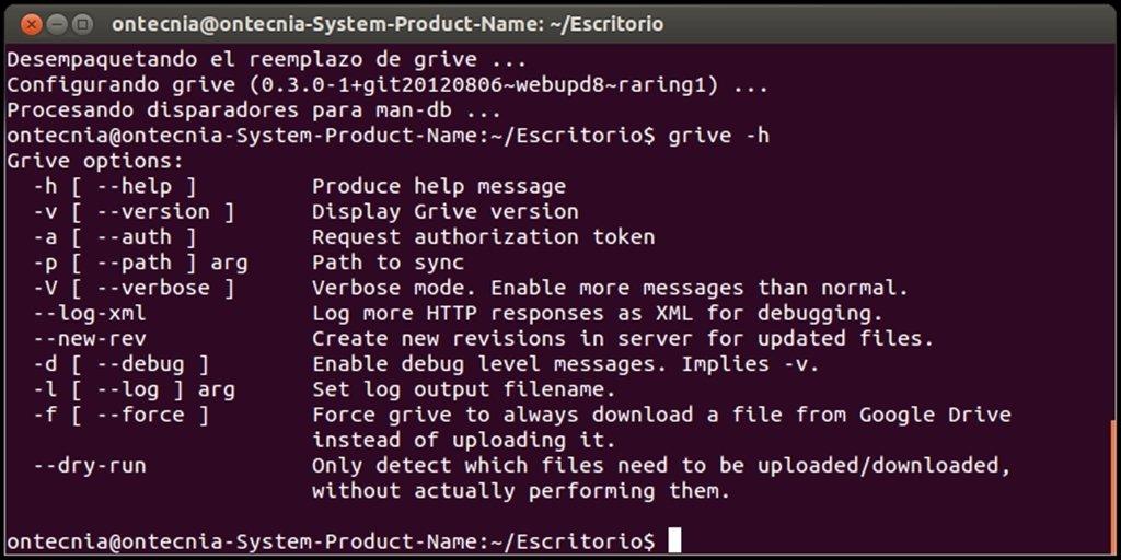 Grive Linux image 5