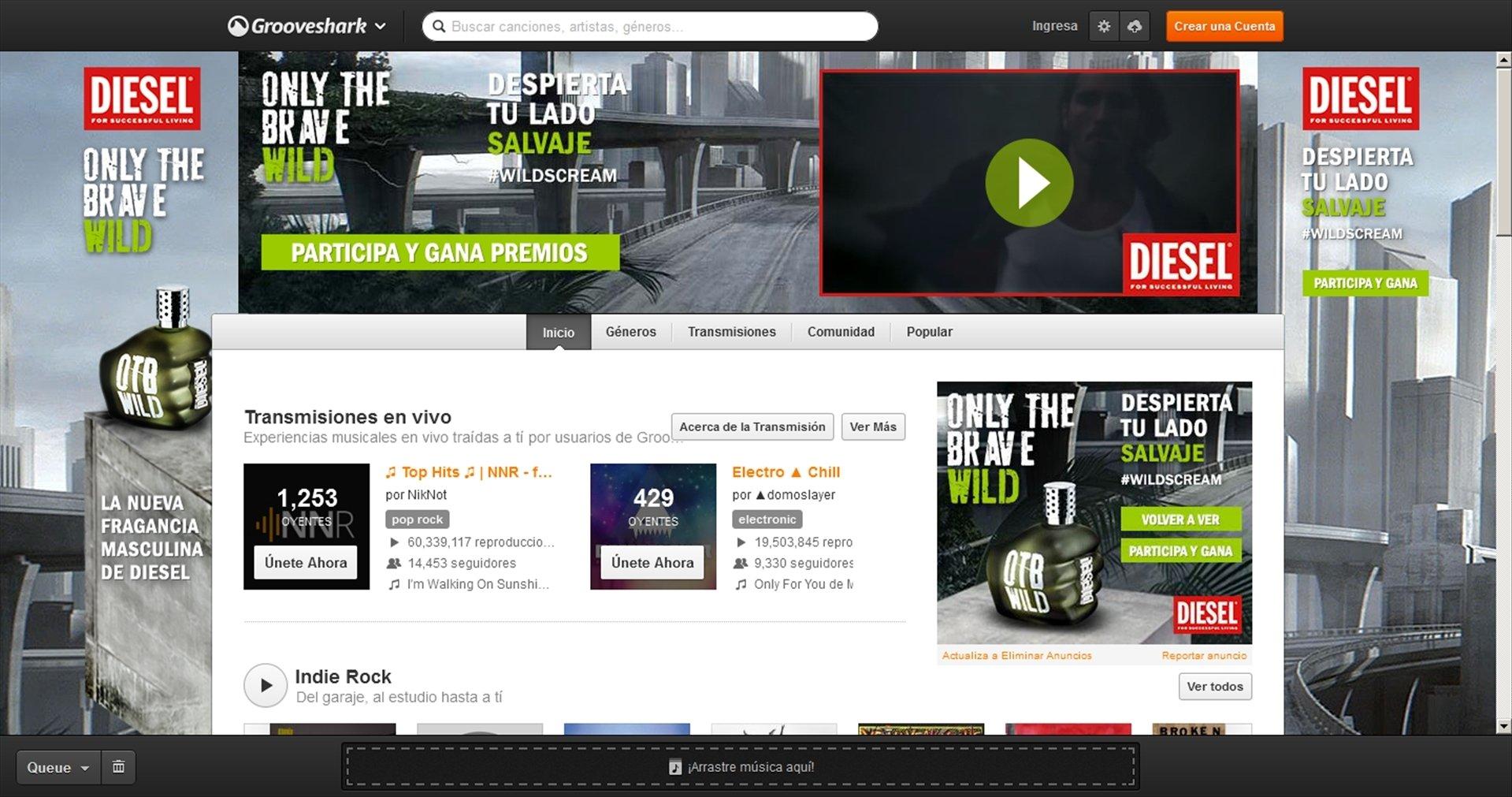 Grooveshark Webapps image 5