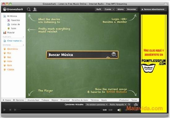 Grooveshark Desktop Mac image 5