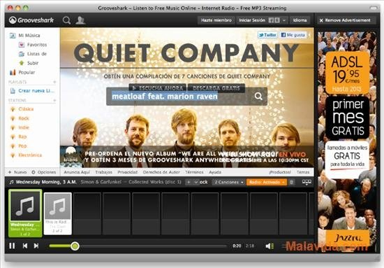 Grooveshark Desktop 0 04 - Download for Mac Free