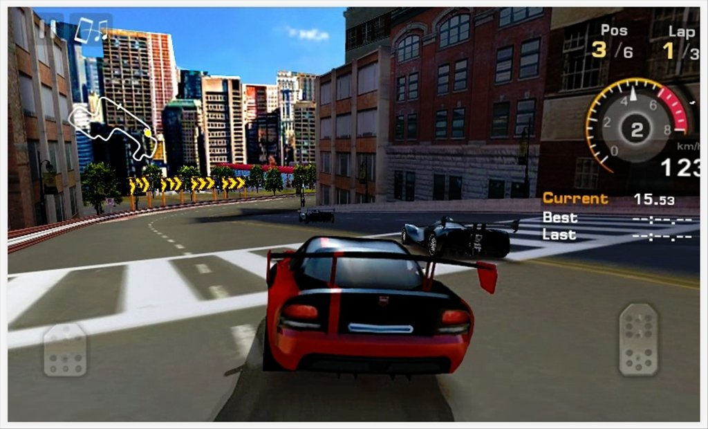 game gt racing motor academy android