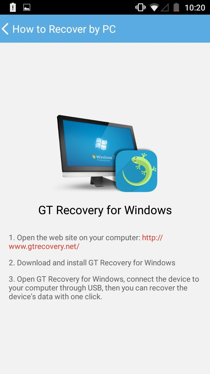 GT Recovery 2 8 7 - Download for Android APK Free