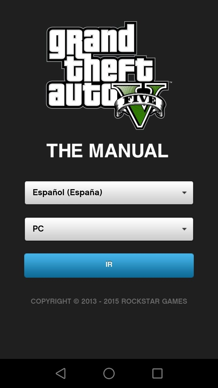 gta 5 grand theft auto v the manual 5 0 8 t l charger pour android apk gratuitement. Black Bedroom Furniture Sets. Home Design Ideas
