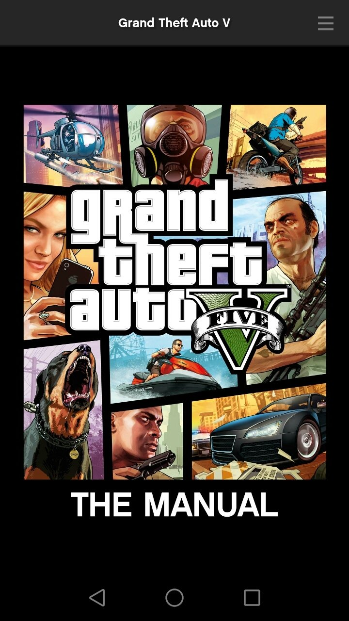 Grand Theft Auto V: The Manual - Apps on Google Play