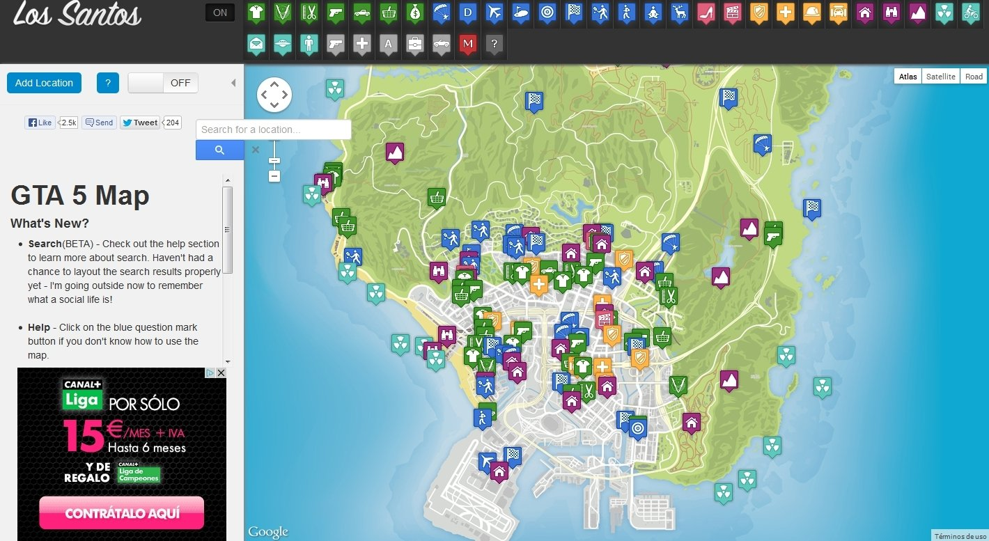 GTA 5 Map Webapps image 5