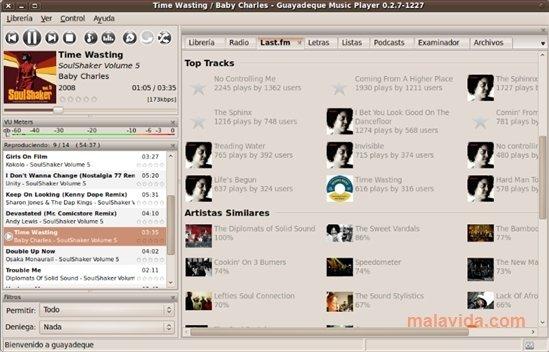 Guayadeque Linux image 4