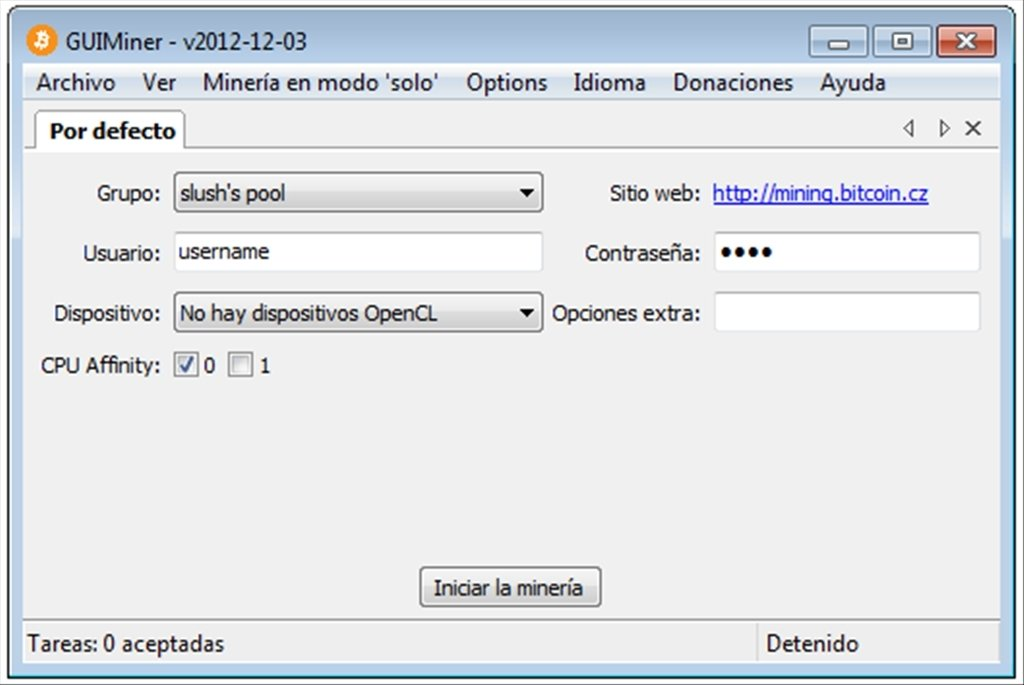 GUIMiner 2012-12-03 - Download for PC Free
