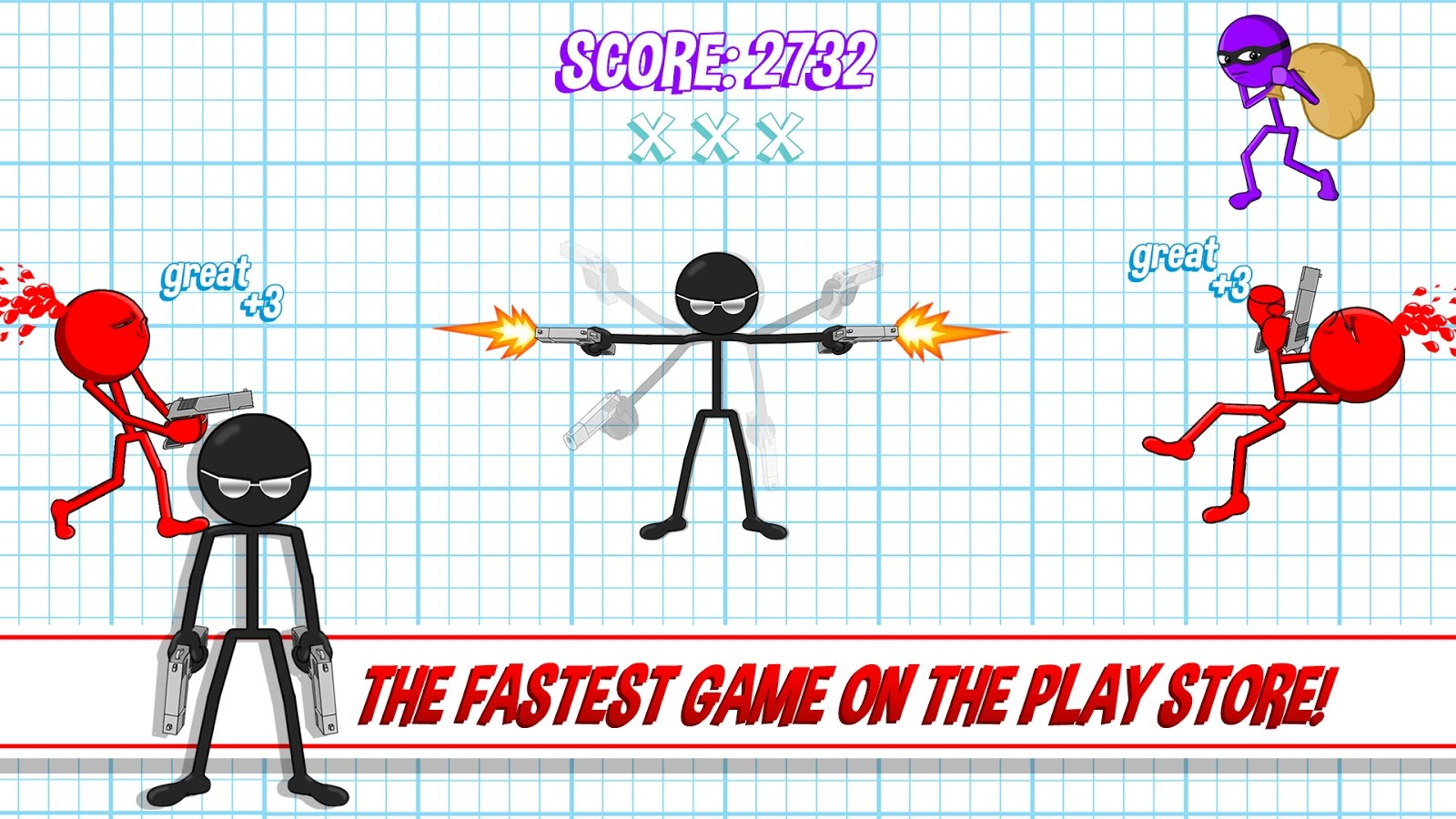 Gun Fu: Stickman 2 Android image 5