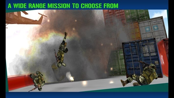 Gunship Sniper Shooting Assault image 6