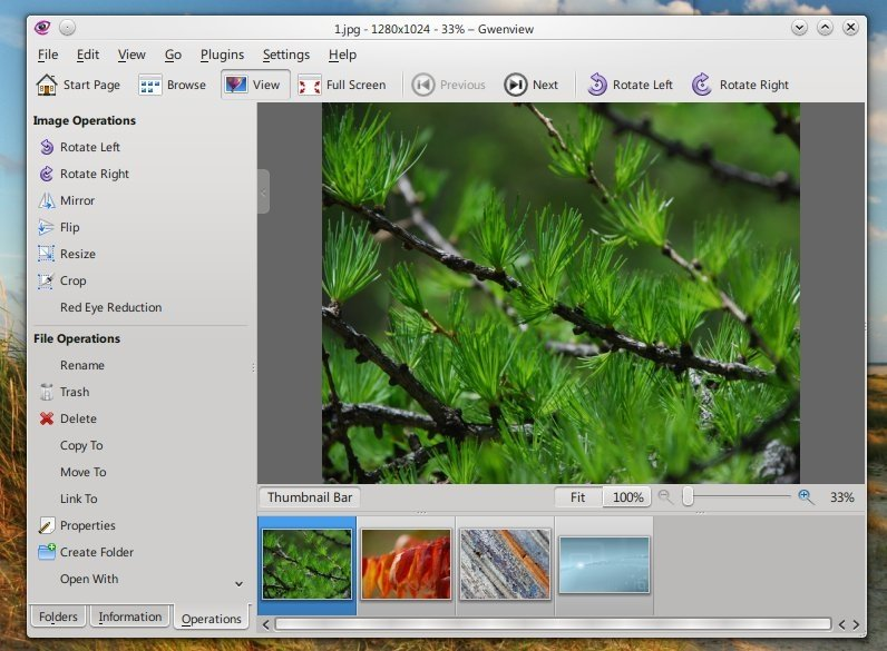 Gwenview Linux image 3