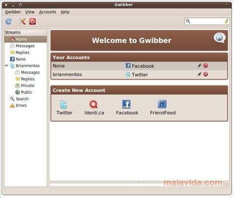 Gwibber Linux image 4