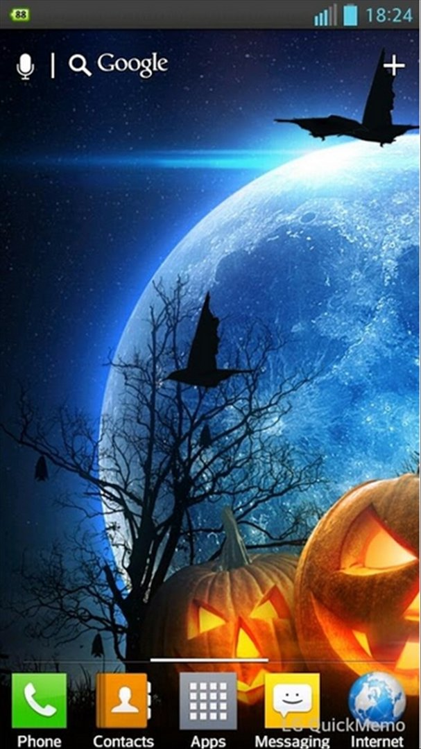 Halloween HD Live Wallpaper Android image 6