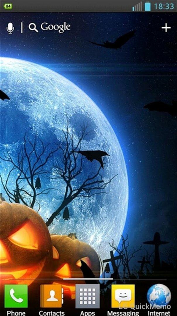 Halloween HD Live Wallpaper Image 3 Thumbnail