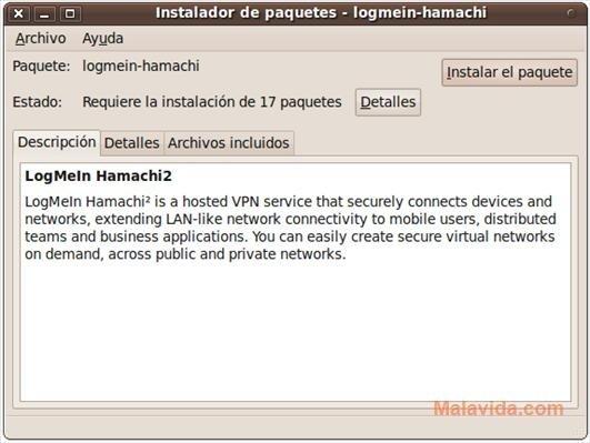 Hamachi Linux image 2