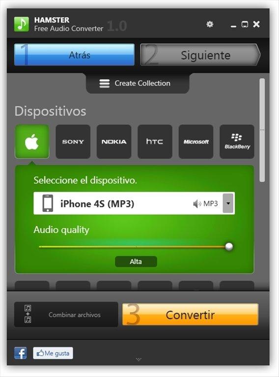 Hamster Free Audio Converter image 6