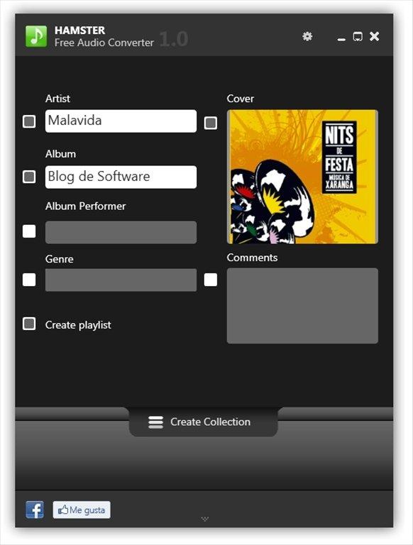 Hamster Free Audio Converter Image 5 Thumbnail