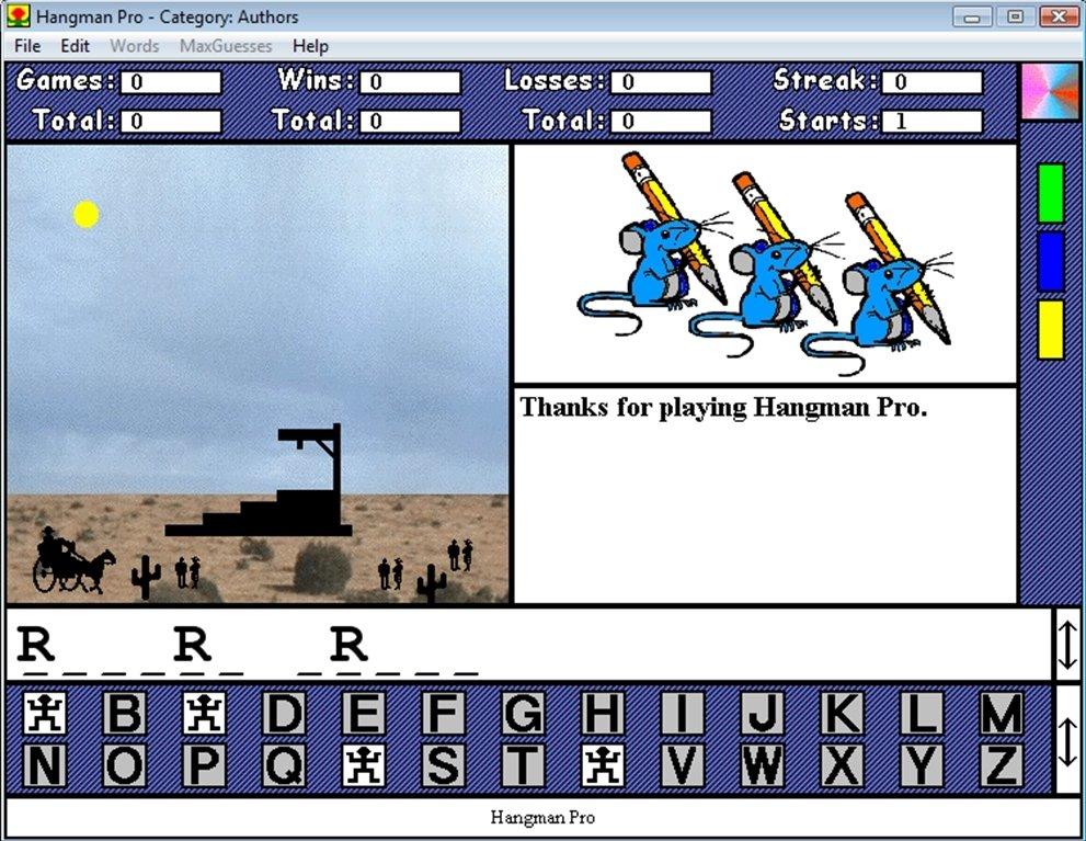 Smart exchange usa hangman game.
