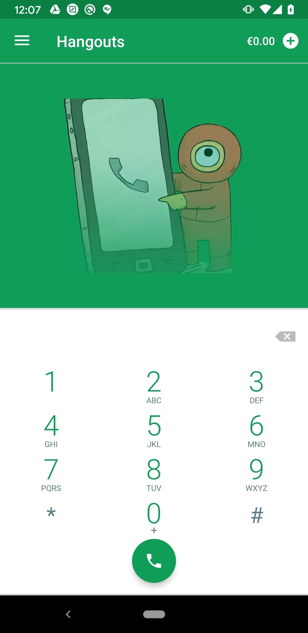 Hangouts Dialer Android image 5