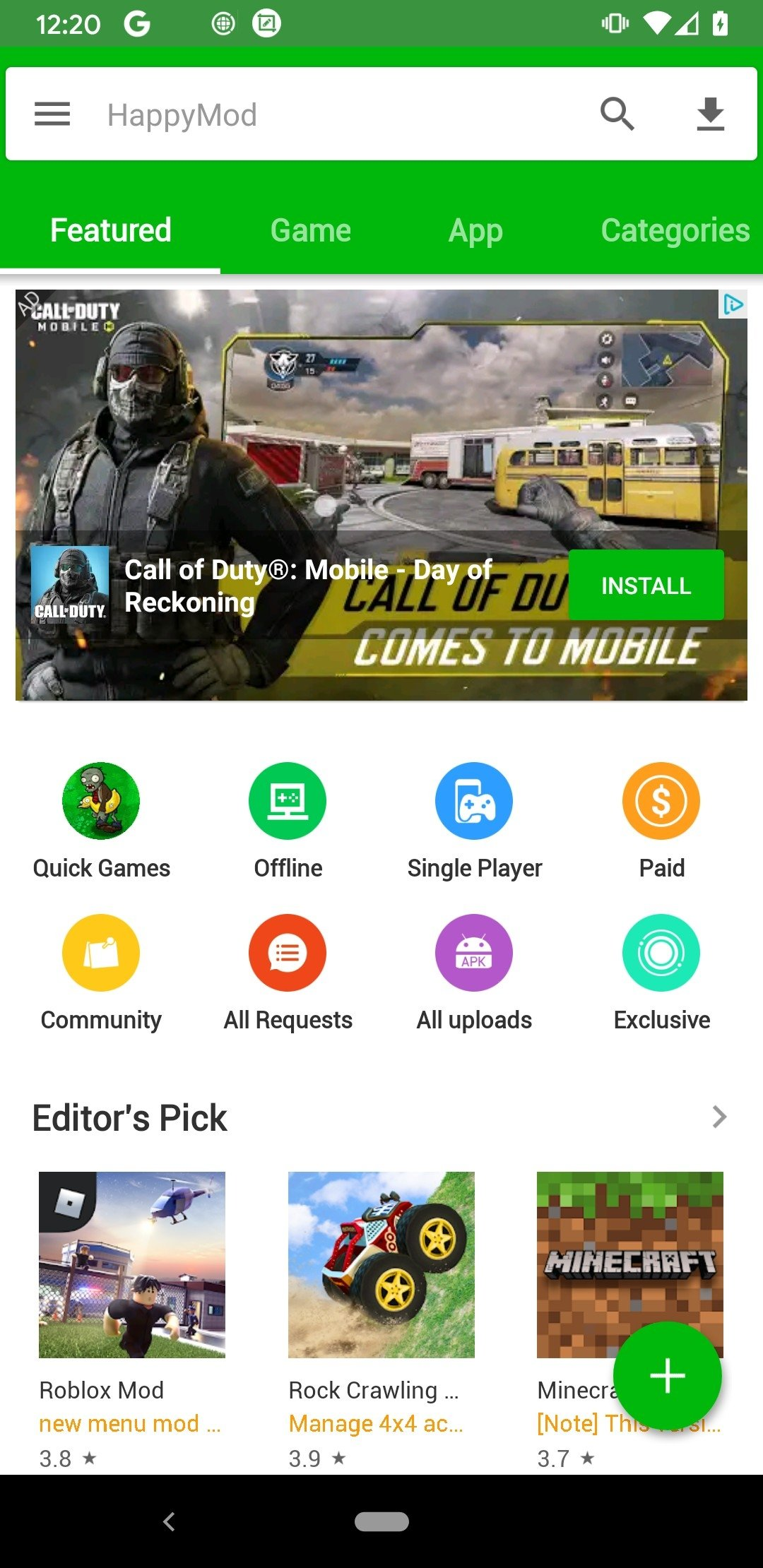 a157f4c5a9 HappyMod 2.2.2 - Download for Android APK Free
