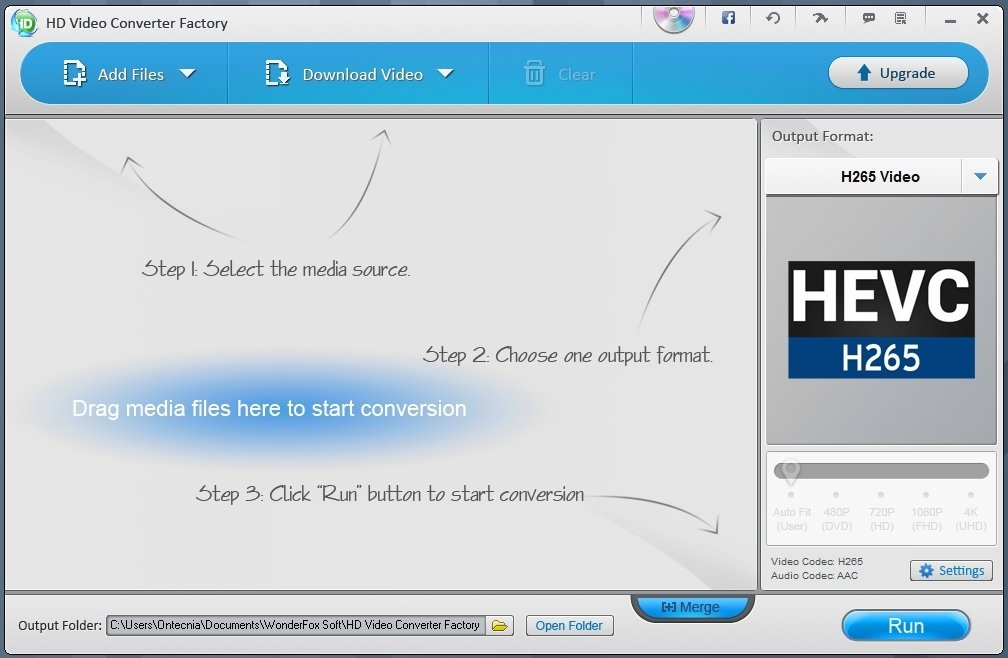 HD Video Converter Factory image 6