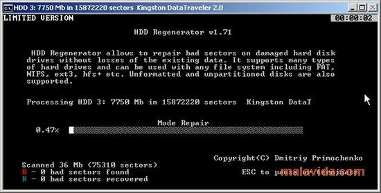 Réparer les erreurs de disques dues aux infections