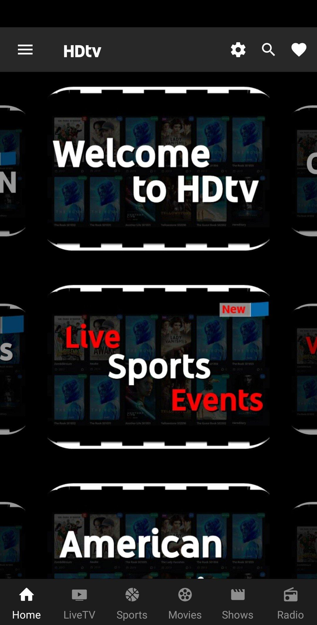 Hqtv app download