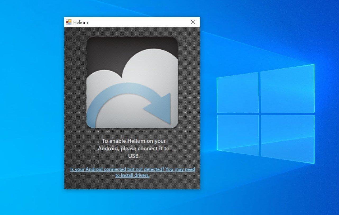 Helium Desktop image 2