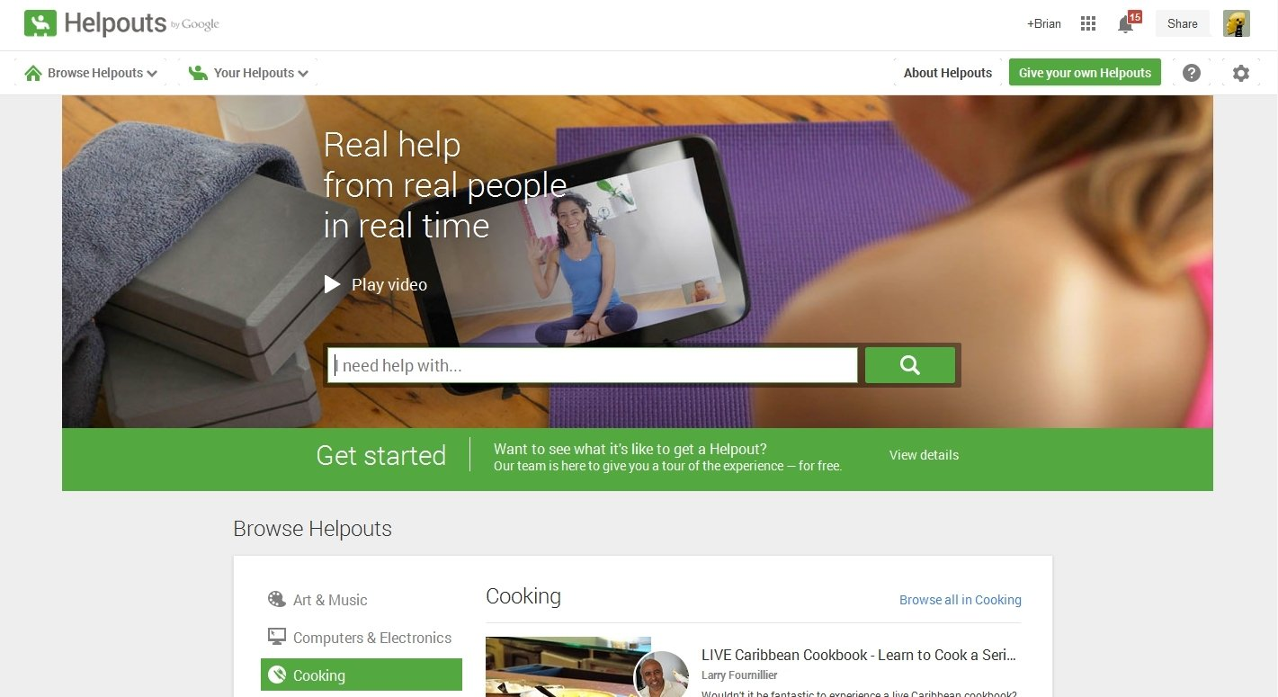 Helpouts Webapps image 7