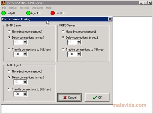 Hermes EMail Server image 4