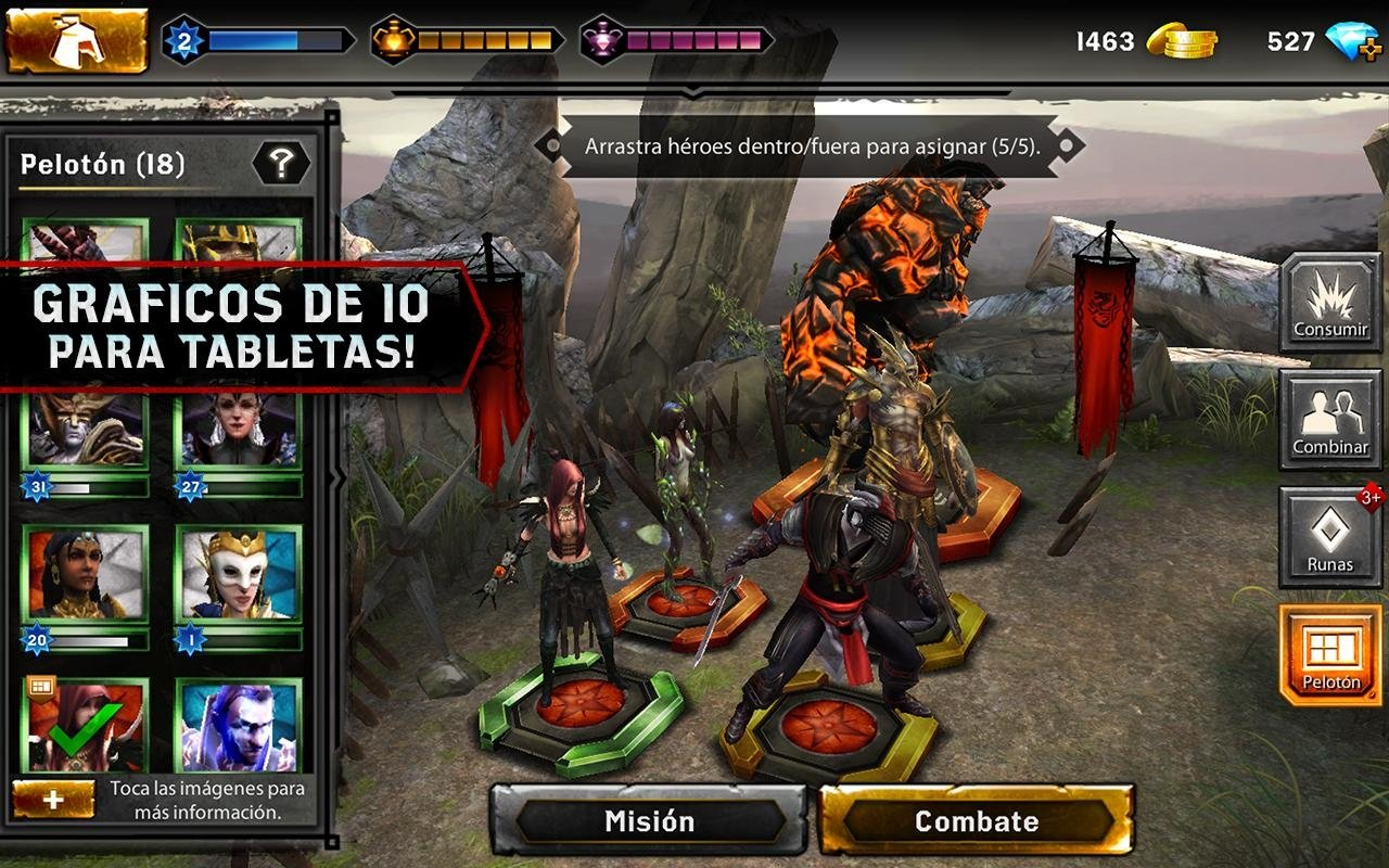 Heroes of Dragon Age Android image 7