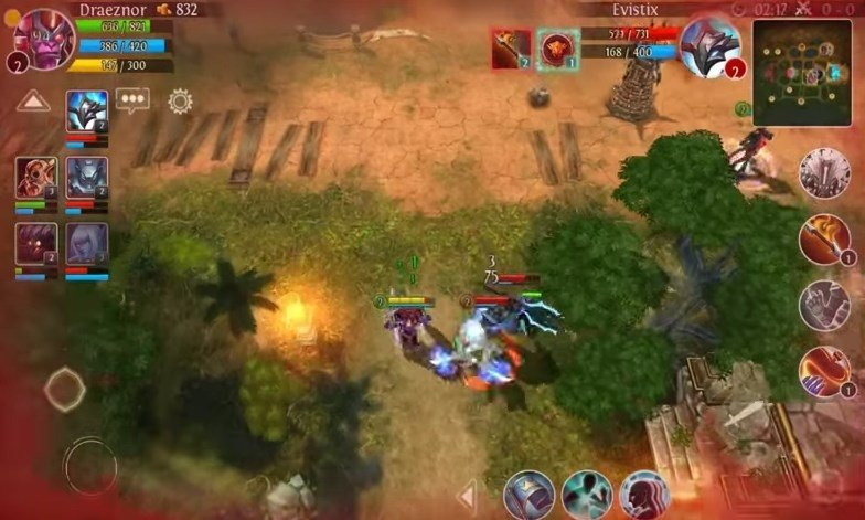 Heroes of order and chaos apk offline free download.