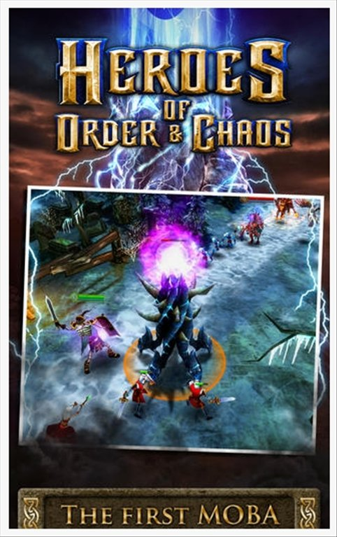 Heroes of Order & Chaos iPhone image 6