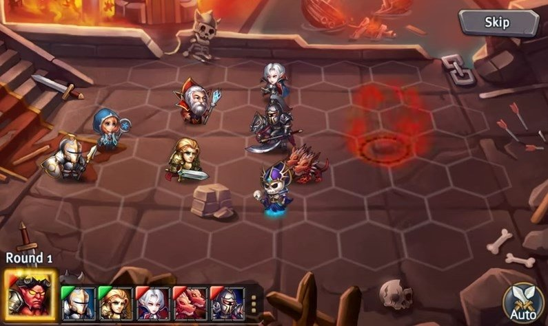 Heroes Tactics: War & Strategy Android image 5