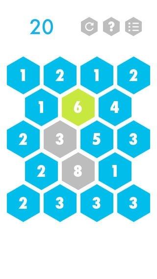 Hexagons iPhone image 5