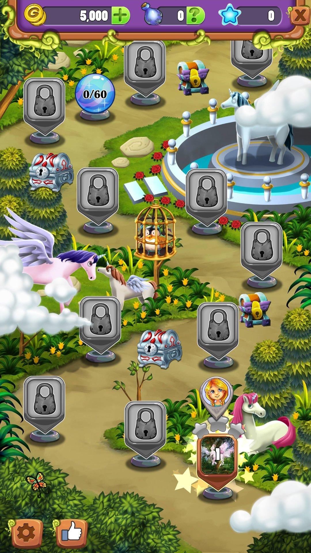 Hidden Mahjong Unicorn Garden Android image 8