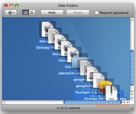 Hide Folders Mac image 4